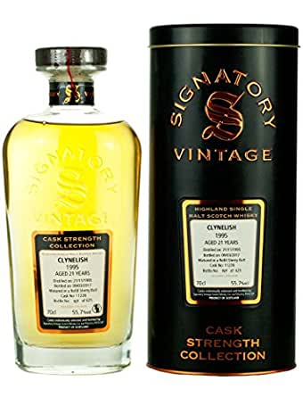 Clynelish 21 Year Old 1995 - Cask Strength Collection Single Malt Whisky