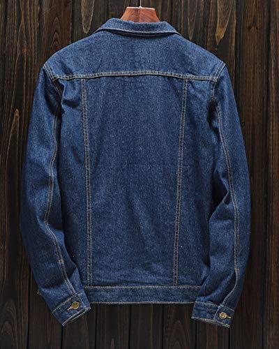 Zoom IMG-2 giacca in denim da uomo