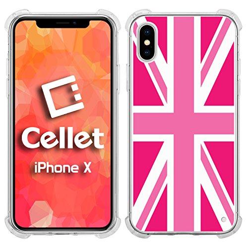 Cellet TPU/PC Proguard Case mit UK-Flagge (3) für Apple iPhone X