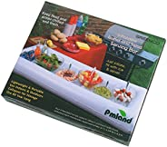 PMLAND Inflatable Pool Bar - Large Portable Floating Buffet and Tray, For Cooling And Serving Drinks, Salads a