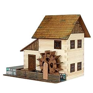 Walachia Moulin à eau 1:32 modèle de kit bois 16