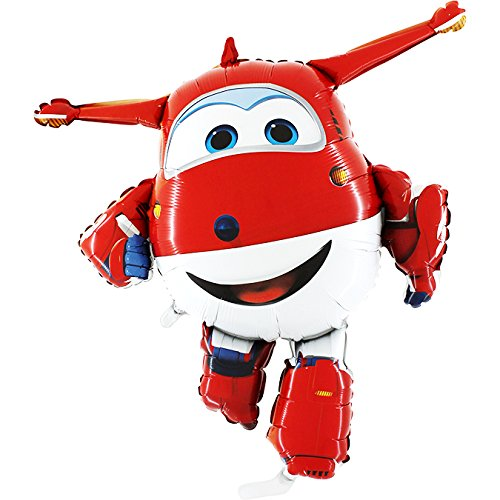 Und Die Jack Nimmerland Cartoon Piraten (Super Wings Folienballon Jett 85 x)