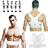 #3: MSE Size: M* High Quality Men's and Women's Correct Belt Power Magnetic Posture Sport Back Support Strap Postural Correction Belt vest(size may vary)(pack of 1 )