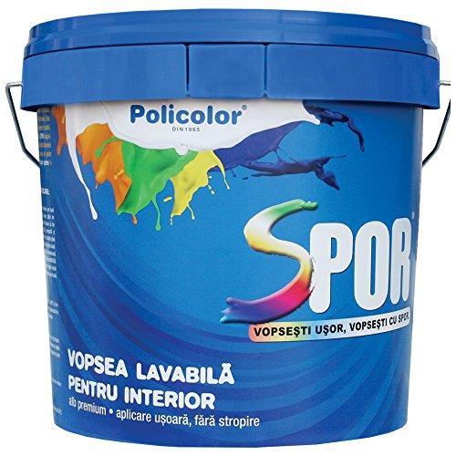 Interni vernice pacchetto 15L vernice interna Spor Spor 2.5L + Confezione da 1PZ