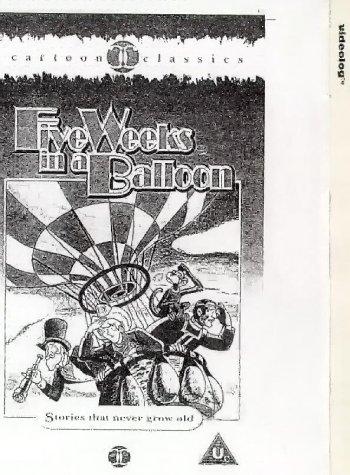 Preisvergleich Produktbild Five Weeks in a Balloon [VHS]