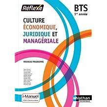 Culture Économique, Juridique et Managériale - 1re année BTS GPME, SAM, NDRC