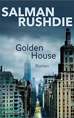 Buchseite und Rezensionen zu 'Golden House' von Salman Rushdie