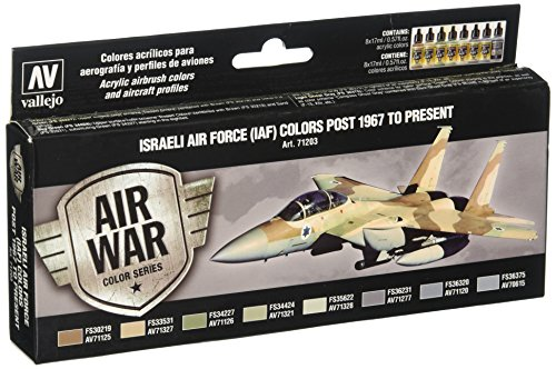 Vallejo AV'Israeli Air Force' Model Air set