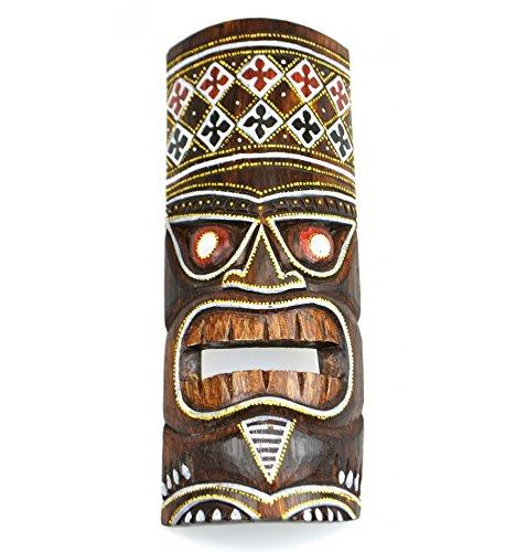 Mscara-Tiki-H30-cm-madera-multicolor-Dco-Hawi