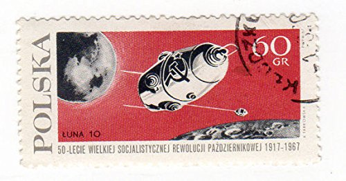 Philatélie - Pologne - 1967 - The 50th Anniversary of the October Revolution in Russia 60 Gr par COLLECTIF