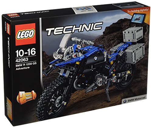 LEGO - 42063 - Technic -  Jeu de construction - BMW R 1200 GS Adventure