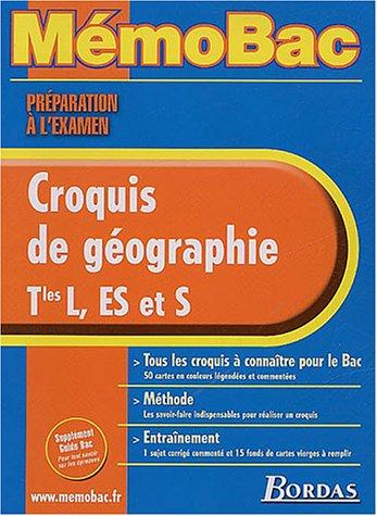 MEMO PREPA EXAM. CROQUIS GEOGR. TERM.    (Ancienne Edition) par Jean-Yves Pennerath