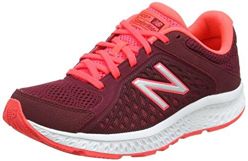 New Balance W420v4, Zapatillas de Running para Mujer, Rosa (Pink/Black), 41 EU
