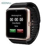 New Bluetooth Armbanduhr Smart Watch GT08Für Android iOS iPhone von intelligenten Armbänder Halterung SmartWatches Wanduhr bracelet noir et montre doré