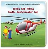 Julian und Niclas finden Hubschrauber toll - Ines Kriwitz, Reina Bloeck