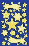 AVERY Zweckform 59256 Kinder Sticker Sterne (Leuchtmaterial) 32 Aufkleber