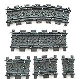 LEGO ® CITY - Eisenbahn RC - 16 Stück flexible Schienen Gleise 9 Volt - Flexgleise - entsprechen 2 ganzen Schienen