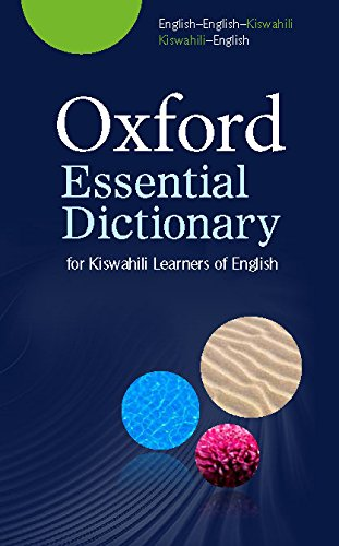 Oxford Essential Dictionary for Kiswahili Learners of English ...