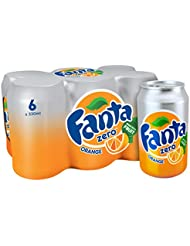 Fanta Orange Zero 6 x 330 ml