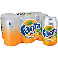 Fanta Orange Zero 6 x 330 ml