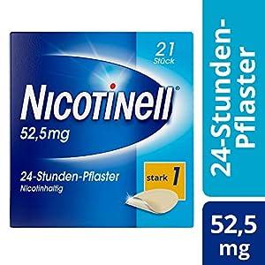 Nicotinell 21 mg/24-Stunden-Pflaster (bisher 52,5 mg) Stärke 1 (stark), 21 St. Pflaster