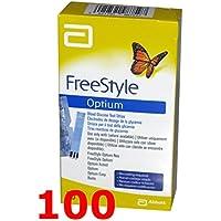 FREESTYLE Optium - 100 Streifen reaktive für die Test der Blutzucker - free style preisvergleich bei billige-tabletten.eu