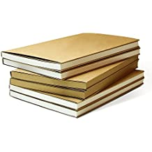 Zhi Jin – cuadernos de dibujo clásicos, para dibujar, recortes, diario, diario de viajes, color 32K-White Blank Paper