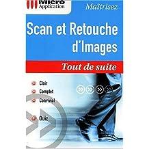 Scan et retouche d'images