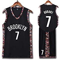 MBY Brooklyn Nets 11 Basketball Uniform,Kevin Durant and Kyrie Irving Summer Sports NBA Jersey,Adult and Children's Basketball Uniforms, Basketball Jersey Top Including Shorts