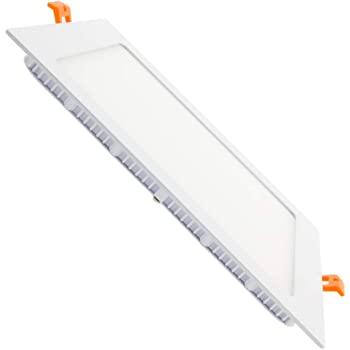 for Kitchen//Home//Office//Commercial Lighting Day White 6000K 6W Non-Dimmable Square Flush Mounted Flat Panel Ceiling Light Downlight Fonyun 4inch Ultra-Thin Led Recessed Light Retrofit Kit Fixture