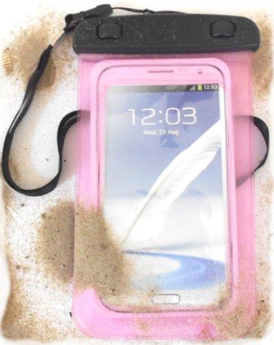 Preskin - borsa impermeabile a 5.7'' pollici display, certificazione ipx8, subacquea chiusura ermetica smartphone custodia protettiva / cassa del telefono con funzione touch screen come protector