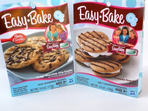 easy-bake-2-pk-combo-smores-snacks-fudgy-chocolate-chip-cookie-mixes-by-easy-bake