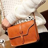 Elistelle Handtasche Damen Pu Leder Shopper Tasche Umhängetasche Blog in 3 Farben