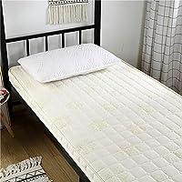 GJFLife Suelo Colchón Tatami Clip de Dinero Cubierta Cama alfombras, Plegable Primeros del colchón Clip de Dinero Respirable Sleeping Pad Futón-H 90x200x6cm