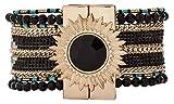 Hipanema Femme Acier Bracelets manchette -...
