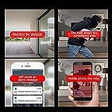 Decdeal WiFi IP Kamera Baby Monitor Überwachungskamera Sicherheitskamera, 720P, IR Nachtsicht, 2 Wege Audio, App IOS/Android/PC - 4