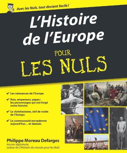 Histoire de l'Europe pour les Nuls