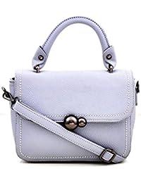 OranGey Fashion - Grey Designer Hand-held Sling Bag