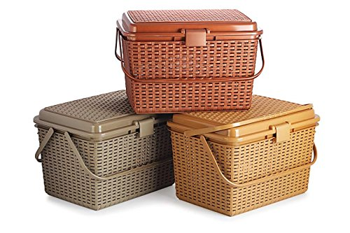 Rpa Royal Picnic Basket For Storing Kids Clothes, Toys,Cosmetics,Fruits And Vegetables And Household Stuff(1 Pc)