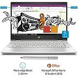 (CERTIFIED REFURBISHED) HP Pavilion x360 14-cd0053TX Laptop(8th Gen i5-8250U/8GB DDR4/1TB HDD/16GB Optane/NVIDIA MX130 2GB Graphics/Win 10/MS Office H&S 2016) Mineral Silver