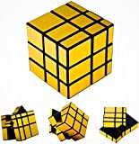 #10: D Eternal Mirror Cube 3x3 Rubik Cube High Speed Stickerless Gold Mirror Magic Rubix Rubick Cube 3x3 Mirror Rubic Cube Brainstorming Puzzle Game Toy