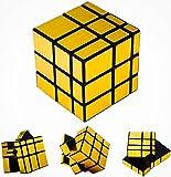 #8: D Eternal Mirror Cube 3x3 Rubik Cube High Speed Stickerless Gold Mirror Magic Rubix Rubick Cube 3x3 Mirror Rubic Cube Brainstorming Puzzle Game Toy