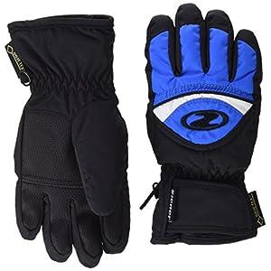 Ziener Largo GTX Handschuhe, Unisex Kinder, schwarz/blau, 3.5