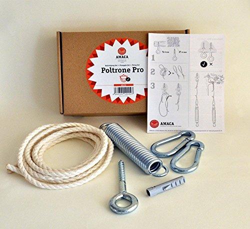 Amaca Poltrone Pro AM-02 Aufhängeset für Hängestühle, max. 100 Kg