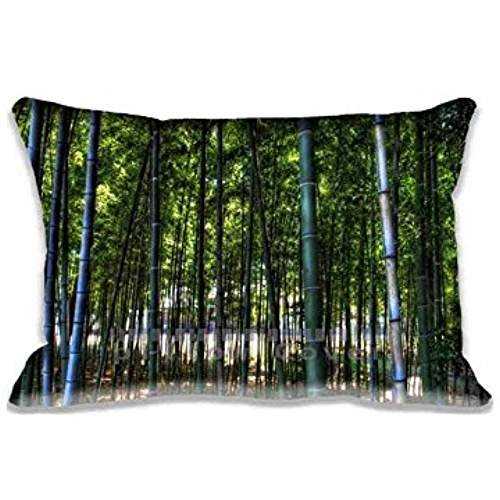 Inside The Bamboo Forest Pillow Protector Home D¨¦cor Standard Pillow Case Cover 20x30inch(2 Sides) (Slips Bamboo)