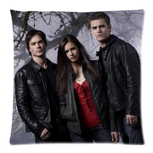The Vampire Diaries Custom Zippered Coussin Taie d'oreiller 45,7x 45,7cm deux côtés, Divers