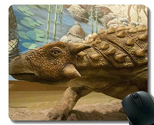Kundenspezifische ursprüngliche Leopard-Reihen-Mausunterlage, Dinosaurier-Dinosaurier-Gummimausunterlage
