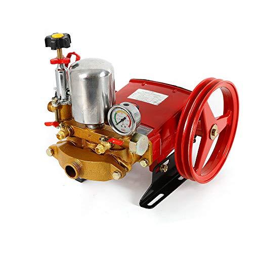 SENDERPICK TH-60 Hochdruck Triplex Tauchkolbenpumpe, Landwirtschaftliche Motorsprühpumpe High Pressure 3Triplex Cylinders Pump Agricultural Motor Sprayer Pump (60) (Motor-öl-regal)