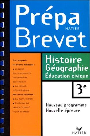 Prépabrevet histoire, géographie - 3e