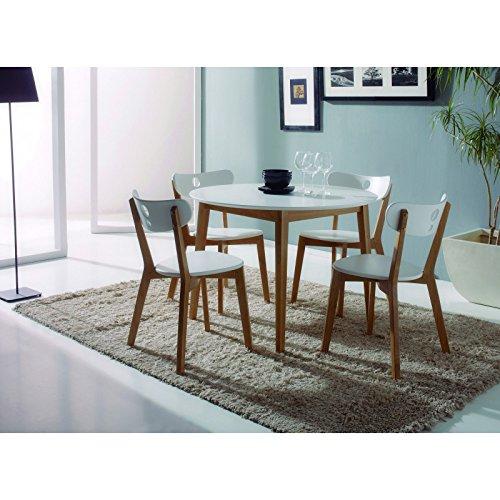 Mesas de cocina redondas dale un toque a tu hogar for Mesas de cocina redondas extensibles
